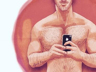Los principes azules gays de Alfredo Roagui