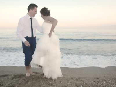 La primera boda: Angel y Conchi